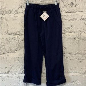 NWT Hanna Andersson Girl's Navy Blue Pants